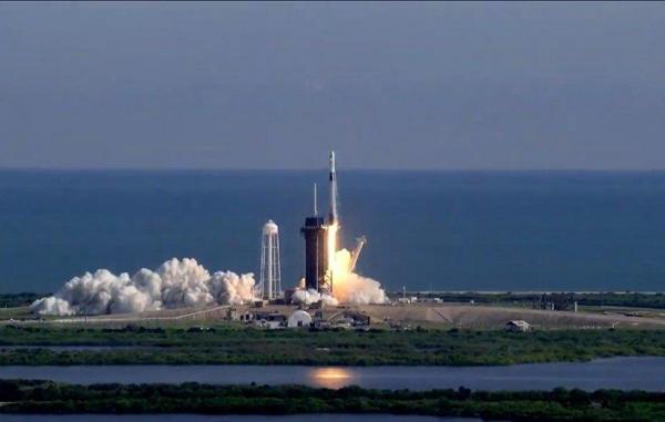 نسل جدید کپسول باری دراگون اسپیسایکس راهی ایستگاه فضایی بینالمللی شد