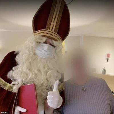 تست کرونای یک راسو در آمریکا مثبت شد ، بابانوئل آلوده به کرونا چند نفر را به کشتن داد (عکس)