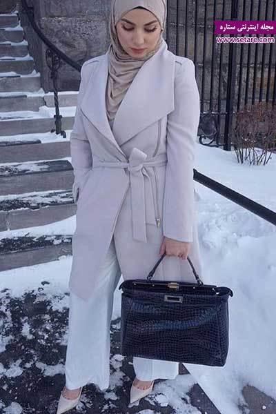 شیک ترین مدل لباس زمستانی دخترانه (مدل لباس زمستانی محجبه)