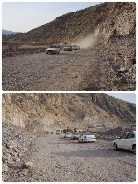 برقراری تردد در محور خرم آباد- پلدختر