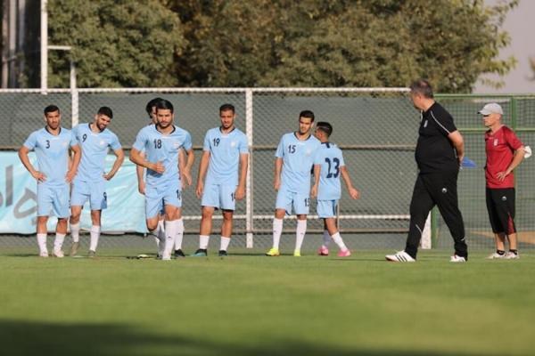 برنامه ویژه کادرفنی تیم ملی فوتبال برای ملی پوشان خبرنگاران