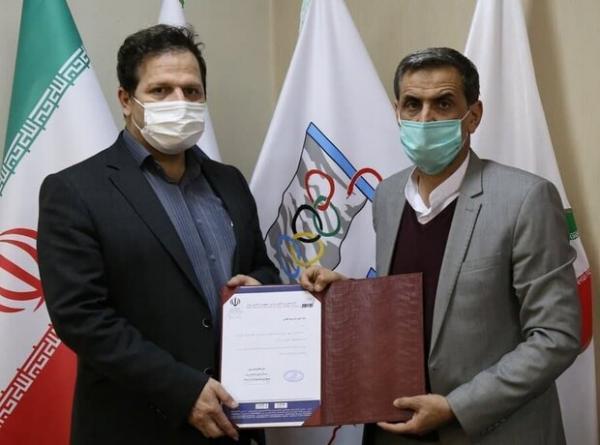 سرپرست نایب رئیسی فدراسیون پزشکی ورزشی منصوب شد