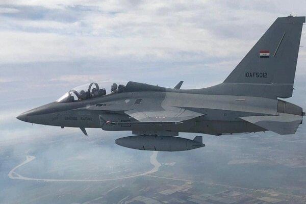یورش جنگنده های عراق به مخفیگاه های بقایای داعش در دیالی