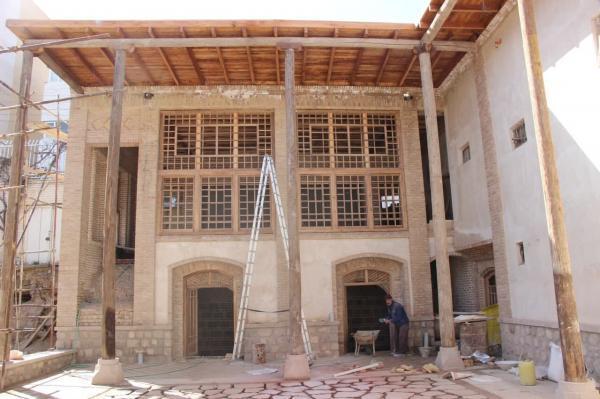 بازسازی و بازسازی کاروانسرای مقصودیه از سوی دانشگاه هنر اسلامی تبریز