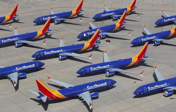 پرواز هواپیمای بویینگ 737 مکس با مشکل تازه ای روبرو شد