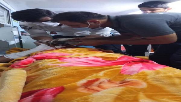 مصدومیت یک فرد بر اثر انفجار گاز در خرمشهر