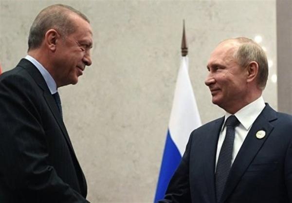 گفتگوی تلفنی پوتین و اردوغان درباره آتش بس قره باغ