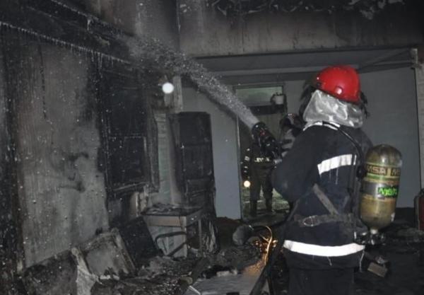 وقوع آتش سوزی در بیمارستان بیماران کرونایی در بغداد، منابع بیمارستانی: 27 نفر جان باختند