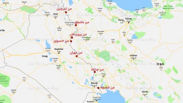 ترانزیت کالا از 5 مرز عراق ادامه دارد