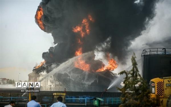 عملیات اطفای آتش سوزی پالایشگاه تهران انتها یافت