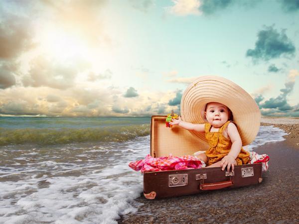 راهنمای کامل برای سفر با نوزاد برای والدین جوان