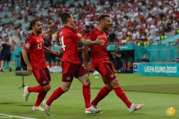 (ویدیو) خلاصه بازی سوئیس 3 - 1 ترکیه 30 خرداد 00