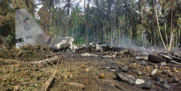 کوشش ها برای یافتن جعبه سیاه هرکولس آمریکایی ارتش فیلیپین ادامه دارد