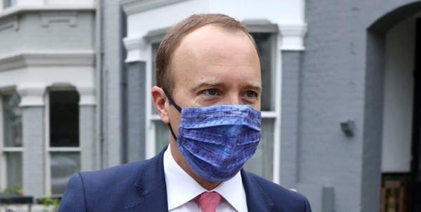 وزیر بهداشت متخلف انگلیس کناره گیری کرد