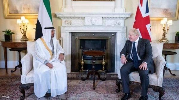 تور دبی ارزان: ملاقات ولیعهد ابوظبی با بوریس جانسون، تأکید بر روابط استراتژیک بین امارات و انگلیس
